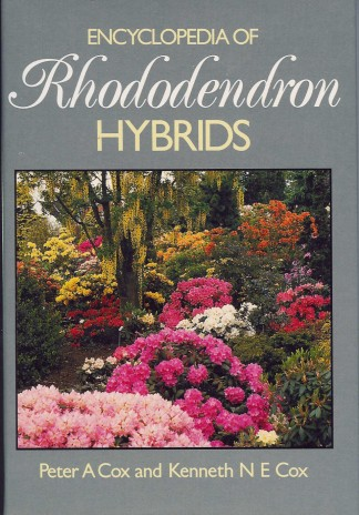 Encyclopedia of Rhododendron Hybrids  1988. Peter & Kenneth Cox