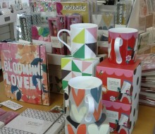 Cards, stationery and mugs