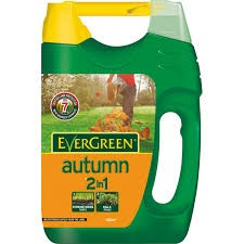 Feed Evergreen Autumn lawncare, shaker