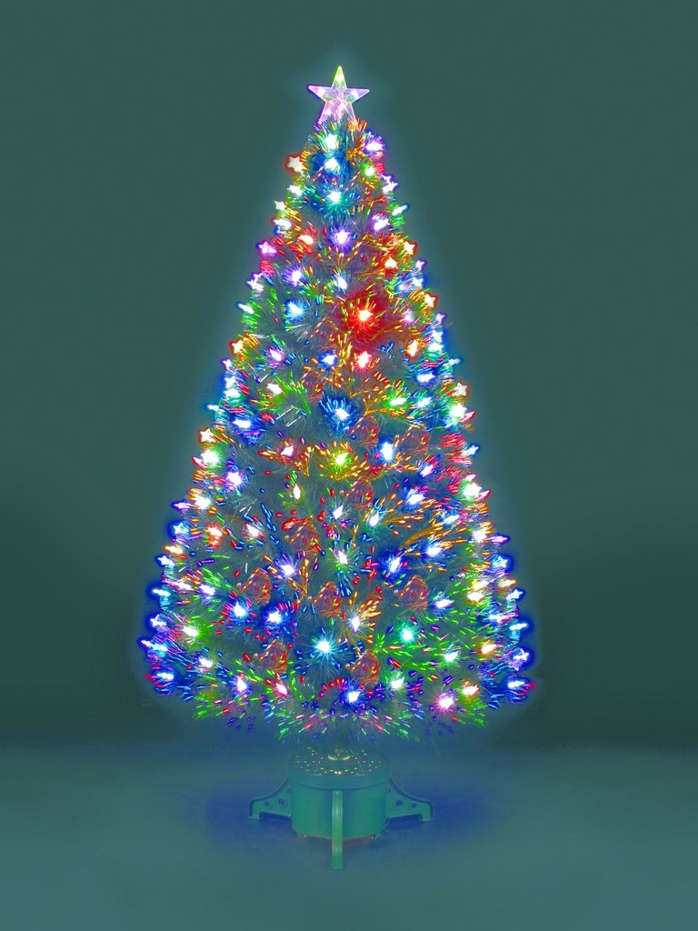 Pre Lit Fiber Optic Christmas Tree