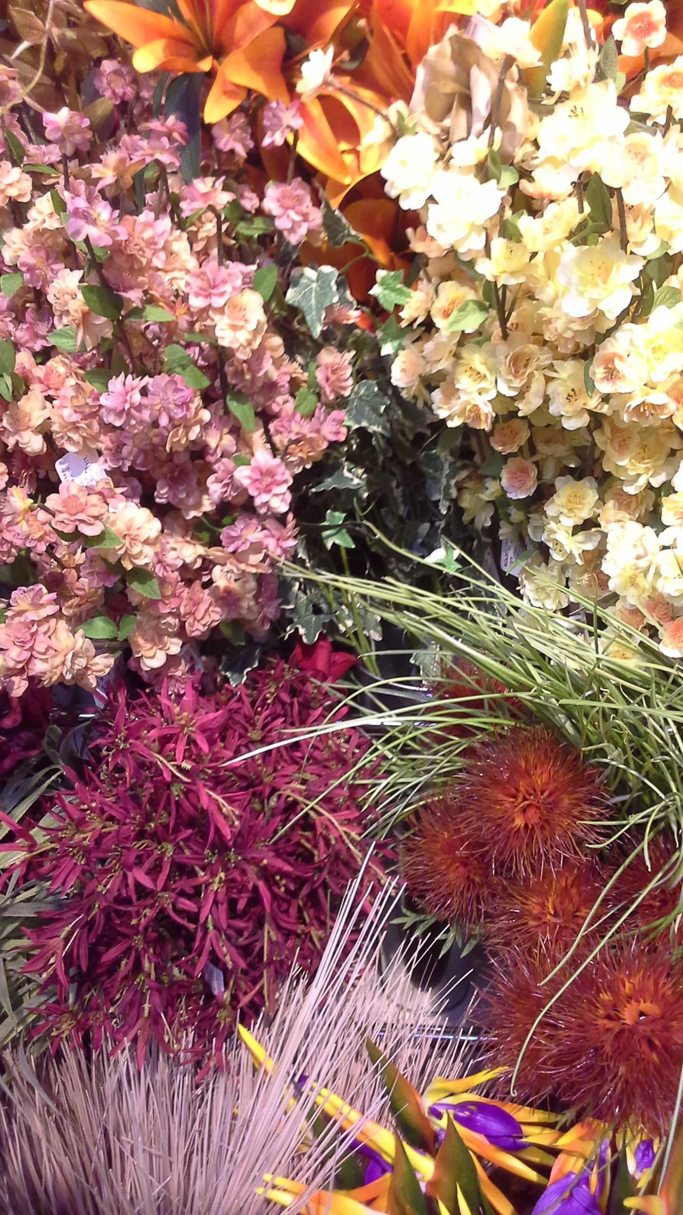 Silk Flower Workshop Glendoick Garden Centre