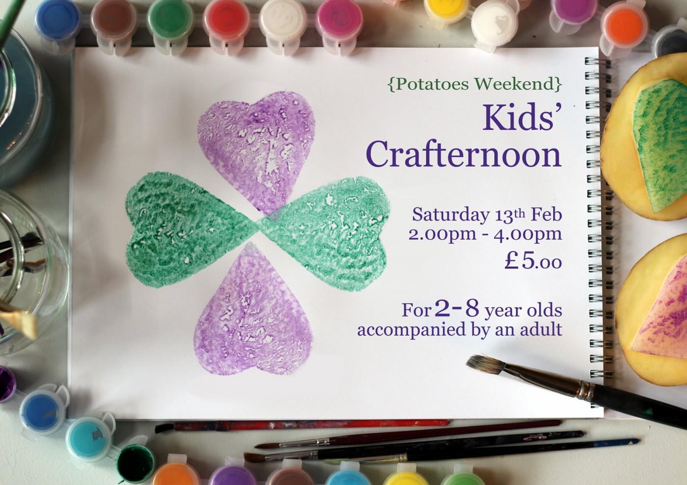 Kids Crafternoon Glendoick Garden Centre