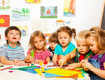 A children's Art & Craft class for little ones
