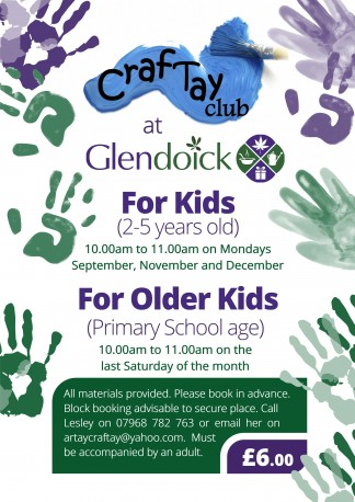 Craftay club glendoick garden centre for Craft of the month club