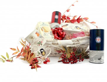 A Christmas Gift hamper from Glendoick Garden centre