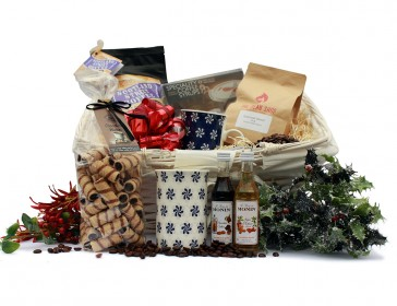 A hamper to delight any coffee lover.