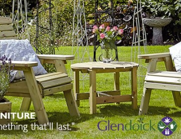 Garden Furniture at Glendoick