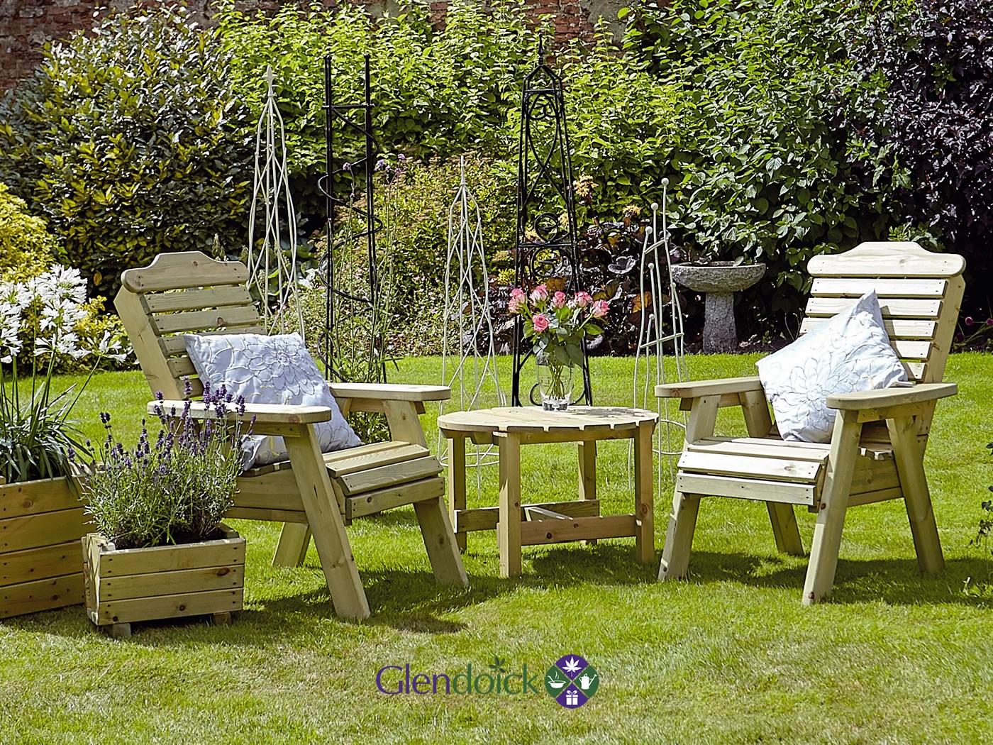 Garden Furniture At Glendoick