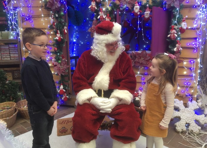 Santa will be visiting Glendoick's grotto each Saturday and Sunday in December from 2-4pm