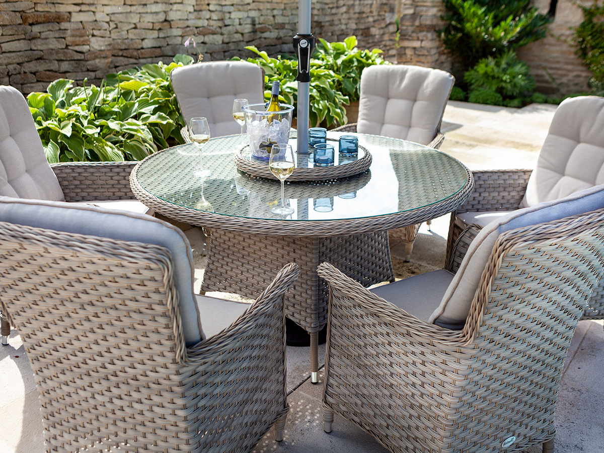 Marvelous Garden Furniture At Glendoick Machost Co Dining Chair Design Ideas Machostcouk